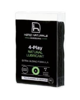 4-Play Lubricante Natural 10Monodosis de 4-Play