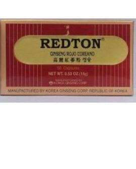 Redton Ginseng Rojo Coreano 30Cap de Abamed Farma