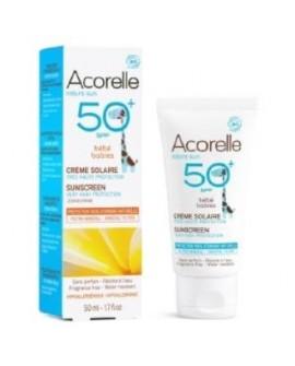 Crema Solar Bebe Spf50+ 50Ml. Bio de Acorelle