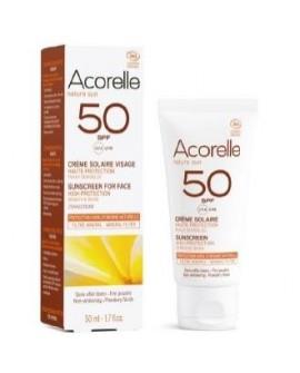 Crema Facial Color Apricot Spf 50 50Ml. de Acorelle