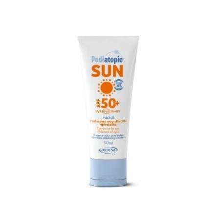Pediatopic Sun Crema Facial Spf 50+ 50Ml. de Pediatopic