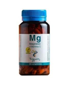 Magnesio + Vit. C 120 Comprimidos de Veggunn