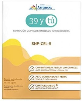 Snp-Cel-5 Intolerancia Al Gluten 15 Sobres De 5 G de 39 Y Tu