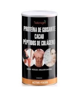 Proteina De Guisante Con Colageno Y Cacao 500Gr. de Active Foods