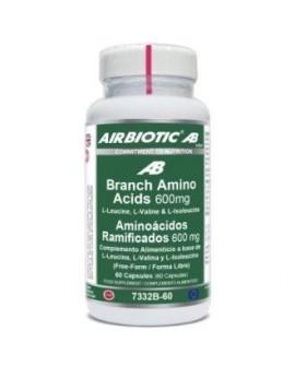 Bcaa Complex 600Mg. 60Cap. de Airbiotic