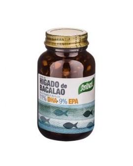 Aceite De Higado De Bacalao 120 Perlas de Santiveri