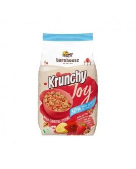 Muesli Krunchy Joy Amapola Fresa-Limon Bh. 375G de Barnhouse