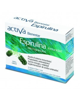 Bienestar Espirulina 30 Caps de Activa