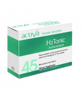 Antioxydante H2 Tonic 60Caps de Activa